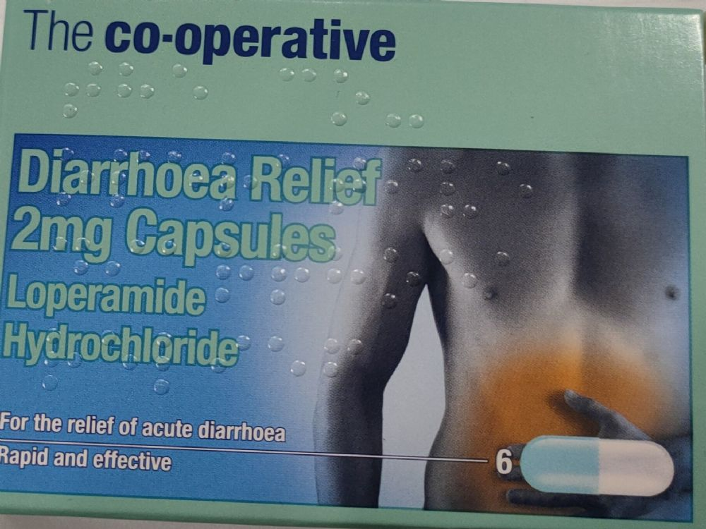 Co-operative Diarrhoea Relief 2Mg Capsules